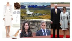 """""""Day 2 of Royal Tour of Iceland, Visiting Hellisheiði Geothermal Power Station"""" by amelia-of-scotland ❤ liked on Polyvore featuring St. John, Allurez, Jimmy Choo and country"""