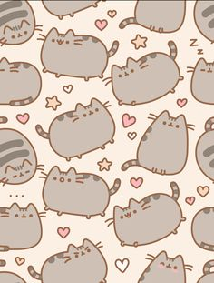 pusheen tumblr background - Google Search