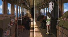 Spirited Away | Hayao Miyazaki | Studio Ghibli / The Art of Spirited Away