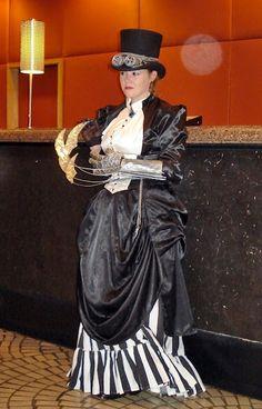 DIY Steampunk Dress