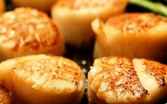SANDRA'S PAN-SEARED SCALLOPS with an ASIAN DIPPING SAUCE (click on image for recipe)...