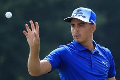 Rickie Fowler a PUMA Star. Today in blue and blue