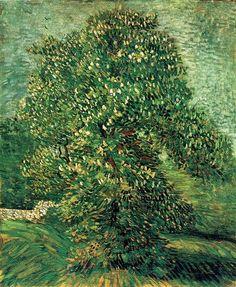 Chestnut+Tree+in+Blossom,+1887+-+Vincent+van+Gogh