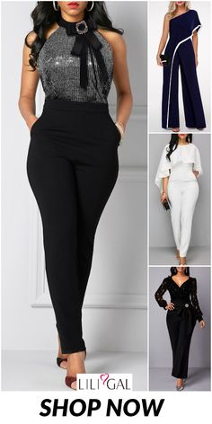 Details about  /Ladies Custom-made Europe Jumpsuits Boots Nightclub Pants Front Zip/& Hooded Plus