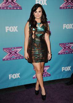 Hot Or Not? Demi Lovato's Futuristic Mini. #hotornot #celeb #demilovato http://buzznet.com/~65b207e