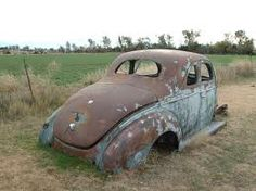 1939 Ford abandoned