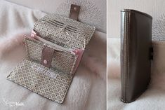 Cousu by Nath: an accomplice: a complete and practical portfolio Box Couture, Creation Couture, Pouch, Wallet, Loom Knitting, Purses And Bags, Diy And Crafts, Appris, Sewing