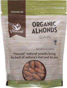 Vitacost Organic Raw Almonds