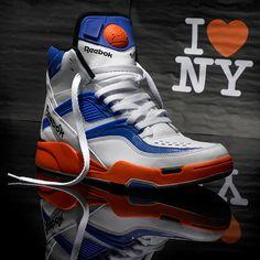 "sports shoes 21003 1063c Reebok Pump Twilight Zone ""New York Knicks"""