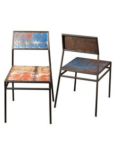 Tevis Chairs (Set of 2) from California Dreaming: Eclectic Venice on Gilt