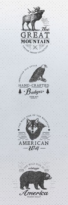 Free Animal rustic Logos                                                       …                                                                                                                                                                                 More