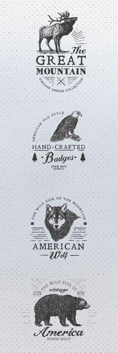 Free Animal rustic Logos …