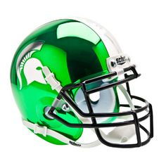 Michigan State Spartans NCAA Authentic Mini 1/4 Size Helmet (Alternate 2)