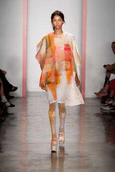 SS '14 - Alison Tsai - Parsons The New School For Design / NYFW New York Fashion Week / MBFW Mercedes Benz Fashion Week