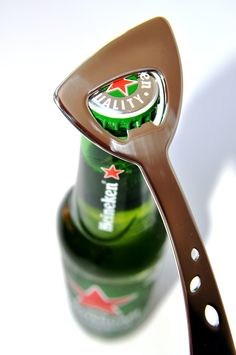 Designer Bottle Opener.W.Momberg Stainless Steel Cutlery, Flatware, Bottle Opener, Design, Cutlery Set, Dishes, Cutlery, Dinnerware
