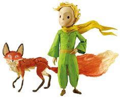 Le Petit Prince - le Renard et la Petit Fille