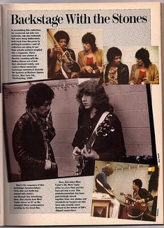 Jimi & Mick Taylor GW March 1988 P. 33 | Guitar World March … | Flickr