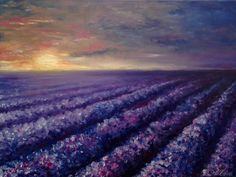 Original Oil Painting On Canvas LAVENDER 16/12inch Oil от UkrHeart