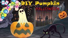 DIY Pumpkin Halloween แต่งฟักทองฮาโลวีน ด้วยแป้งโดว์