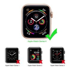 Accessory for Apple Watch Series 4 Case Soft TPU Ultra-Slim Lightweight Scratch Resistant Protective Cover for iWatch Best Apple Watch, Apple Watch Series 2, Apple Watch Bands, Watch Case, Screen Protector, Protective Cases, Bling, Leather Skin, Series 4