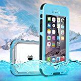 iPhone 6 waterproof case iPhone 4.7 protective case Febe Waterproof Shockproof Dirtproof case cover for APPLE IPHONE 6 4.7  Blue
