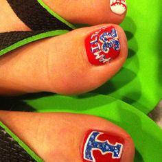 Texas ranger toes