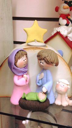 Polymer Clay Halloween, Polymer Clay Christmas, Christmas Crafts, Christmas Decorations, Xmas, Christmas Ornaments, Clay Projects, Clay Crafts, Biscuit