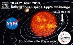 Avril 2013 - L'International Space App's Challenge à La Cantine Toulouse