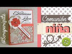 COMUNIÓN: Invitación de niña - first communion invitation