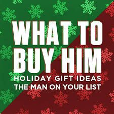 Holiday Shopping For HIM
