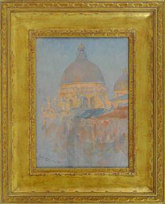 Just Before Sunset, Venice (Santa Maria della Salute)  Walter Launt Palmer