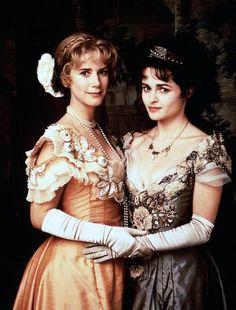 Imogen Stubbs and Helene Bonham Carter in Twelfth Night