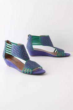 Anthropologie Woven Placita Sandals