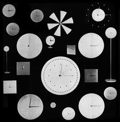 Vitra clock collection by Verner Panton 1961