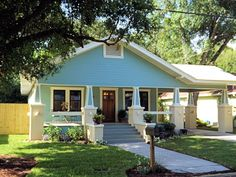 House color - South Seminole Heights