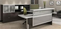 Contemporary Reception Desk - #Office #Modern #Furniture
