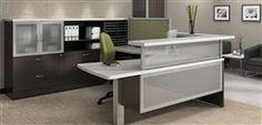 Contemporary Reception Desk - #Office #Modern #Furniture