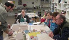 Warren Moyer, a wonderful artist and teacher at Sawtooth in Wiston Salem NC