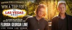 How would you like to win a trip to Las Vegas, Nevada for the ACM - Academy of Country Music Fan Jam & meet Florida-Georgia Line? Enter here! http://www.cbs.com/shows/academy_of_country_music/florida-georgia-line-sweepstakes/