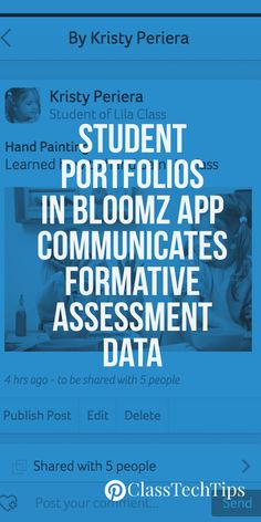Check out these student portfolio tips, great for formative assessment and parent communication. You'll want to get started with this family communication tool right away!