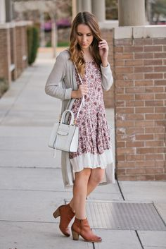 Floral Spring Dress | Twenties Girl Style