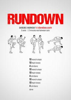 Rundown Workout | Posted By: CustomWeightLossProgram.com