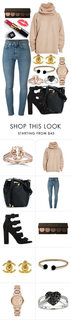 """""""#232"""" by londero-danielle ❤ liked on Polyvore featuring Bliss Diamond, Acne Studios, Michael Kors, Yves Saint Laurent, Kendall + Kylie, Chanel, David Yurman, Burberry and Ice"""