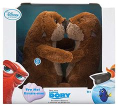 Otters Interactive Feature Plush Set Finding Dory Small 8 -- Click image for more details. Disney Finding Dory, My Christmas Wish List, Disney Plush, Trunk Or Treat, Sound Effects, Polyurethane Foam, Cuddles, Otters, Plushies