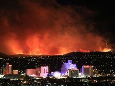 Reno Nevada's last fire