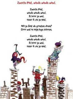 Zwarte Piet, wiede wiede wied #sinterklaas