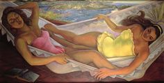 Diego Rivera - The Hammock
