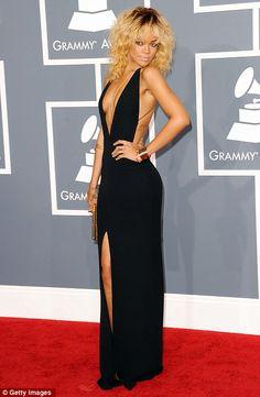 Rhianna .... Grammies dress = HOT