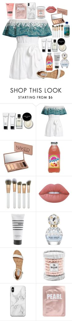 """""""Summer hurry up please"""" by cassieq6929 ❤ liked on Polyvore featuring Bobbi Brown Cosmetics, Mara Hoffman, Urban Decay, Spectrum, Lime Crime, Pirette, Marc Jacobs, Recover, Lapcos and Neutrogena"""