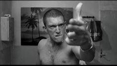 vincent cassel in la haine, 1995 Vincent Cassel La Haine, Mommy Film, Pulp Fiction, Seven Film, La Haine Film, Film Scene, A Serbian Film, Best Black, Black And White